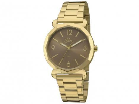 b48d18968c0 Relógio Feminino Allora Par Perfeito AL2035FAY Analógico Resistente à Água  – Relógios DESCONTO DE R   108