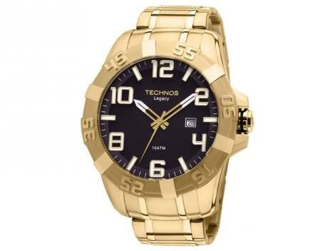f7ea8a20a3173 Relógio Masculino Technos 2315ABA 4P Analógico Resistente à Água – Relógios  DESCONTO DE R   406