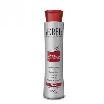 Secrets - Mascara Matizadora Red - 500g - Secrets