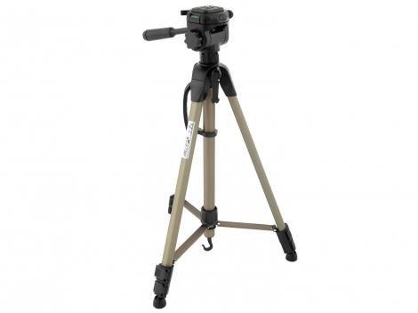 Tripé para Câmera Amador Cabeça Regulável - até 160cm - WF WT 3750