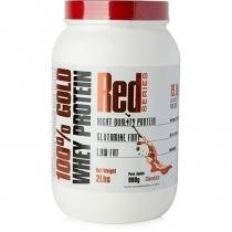 100 Gold Whey Protein 900G Red Series Chocolate - Proteina -