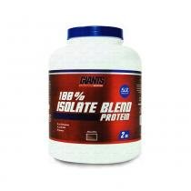 100 Isolate Blend Protein 2kg Pote - Giants Nutrition - 2kg - Giants Nutrition