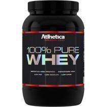 100% Pure Whey Protein 900g Atlhetica Nutrition - Morango