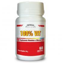 100  Vit- Multivitamínico - 60 Cápsulas - Nitech Nutrition - Nitech Nutrition