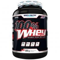 100 Whey - 900G - Body Nutry - Morango -