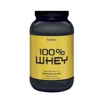 100 WHEY ULTIMATE 2LBS (908g) - BAUNILHA - Ultimate nutrition