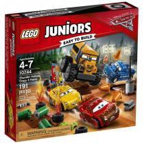 10744 lego juniors disney carros corrida em thunder hollow - Lego