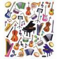 Adesivo Artesanal I Instrumentos Musicais AD886 - Toke e Crie