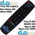 Controle Remoto Duosat Troy S HD -