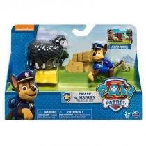 1341 patrulha canina playset chase e marley - Sunny brinquedos