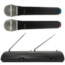 204H - Microfone s/ Fio de Mão Duplo VHF 204 H - CSR - CSR
