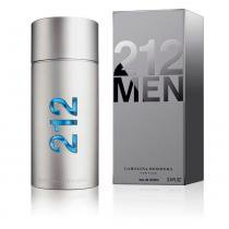 212 Men Eau De Toilette Carolina Herrera Perfume Masculino 200ml - Carolina Herrera