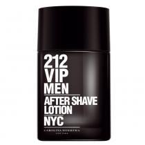 212 Vip Men After Shave Lotion Carolina Herrera - Loção Pós-Barba - 100ml - Carolina Herrera