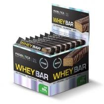 24 barras - Whey Bar High Protein Chocotherm - Probiótica - Coco -