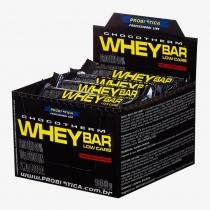 24 barras - Whey Bar Low Carb Chocotherm - Probiótica -
