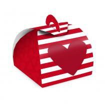 24 Caixas Bem Casado Valise Chamego Vermelho Dec. Festas - Cromus