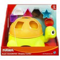 27078 playskool playskool  tartaruga formas divertidas - Hasbro
