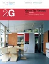 2g numero 39/40 gerrit th rietveld - Gustavo gili (importado)