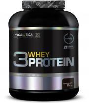 3 Whey Protein 2Kg - Probiótica - Chocolate -