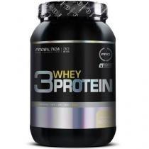 3 Whey Protein - 900g - Probiótica - Baunilha - Probiótica