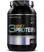 3 Whey Protein 900g - Probiótica - Chocolate -