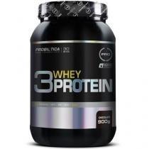 3 Whey Protein - 900g - Probiótica - Chocolate -