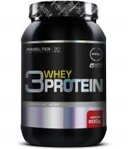 3 Whey Protein 900g - Probiótica - Morango -