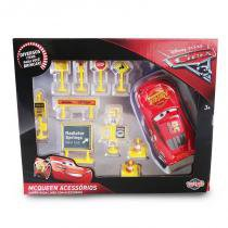31481 disney carros kit mcqueen com placas 13cm - Toyng