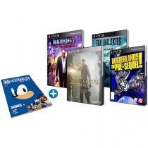 4 Jogos para PS3 - com Livro Biografias Sonic WarpZone