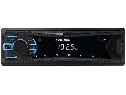 Som Automotivo Pósitron MP3 Player FM - Bluetooth USB SP2230BT