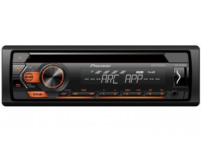 Som Automotivo Pioneer CD Player USB Auxiliar - DEH-S1280UB