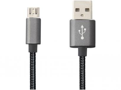 Cabo Micro USB 2m Easy Mobile - Premium Cable