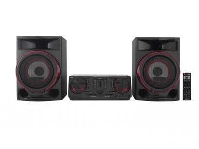 Mini System LG Bluetooth 1800W CD Player - AM/FM USB X Boom CJ87