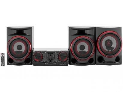 Mini System LG Bluetooth Dual USB MP3 CD Player - Rádio AM/FM 2250W Função DJ X Boom CJ88