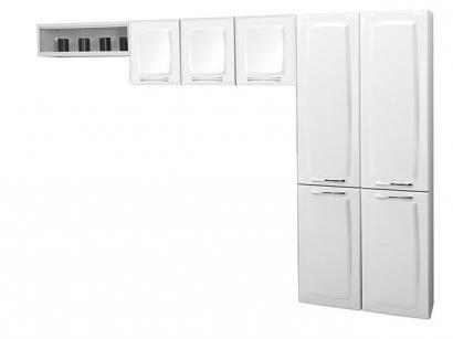 Cozinha Compacta Itatiaia Anita Smart - 7 Portas Aço