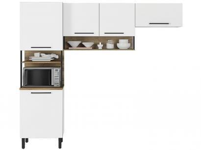 Cozinha Compacta Itatiaia Bali Nicho para - Micro-Ondas 5 Portas