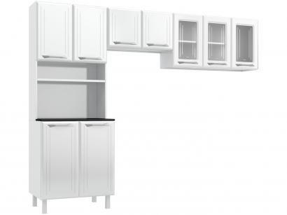 Cozinha Compacta Telasul Topázio 813444-01 - Nicho para Micro-ondas 9 Portas