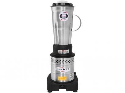 Liquidificador Industrial 2 Litros Inox Spolu - X SPL-023X 800W Alta Rotação