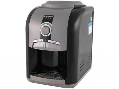 Bebedouro de Mesa Refrigerado por Compressor - Esmaltec Stilo Black EGM30