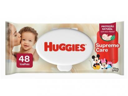Lenços Umedecidos Huggies Natural Care  - 48 unidades