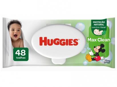 Lenços Umedecidos Huggies Classic - 48 Unidades