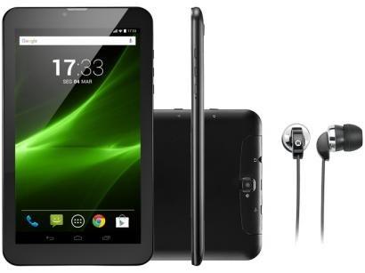"Tablet Multilaser M9 8GB 9"" 3G Wi-Fi Android 7.0 - Quad Core com Câmera Integrada"
