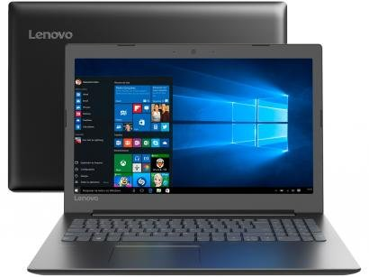 "Notebook Lenovo Ideapad 330 Intel Dual Core  - 4GB 1TB 15,6"" Windows 10"