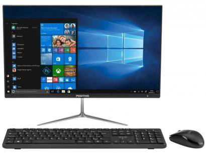 "Computador All in One Positivo Union C464A-21  - Intel Dual Core 4GB 64GB LED 21,5"" Windows 10 Home"