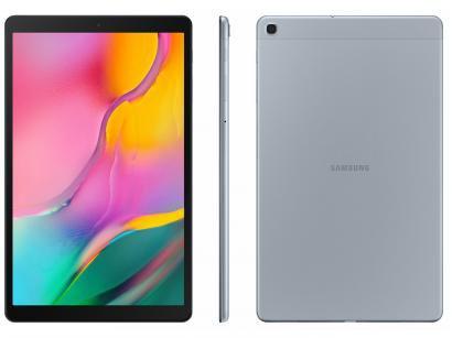 """Tablet Samsung Galaxy Tab A 32GB 10,1"""" 4G Wi-Fi - Android 9.1 Octa Core Câm. 8MP Selfie 5MP"""