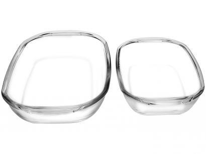 Conjunto de Assadeiras Sempre - Retangular Vidro 2 Peças 15120200791391