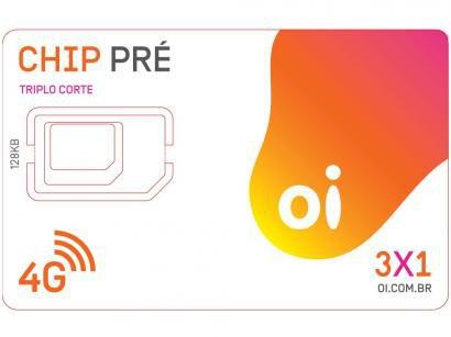 Chip Oi 4G Pré-Pago - DDD 31 MG