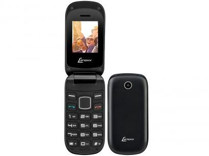 Celular Lenoxx CX907 Dual Chip Rádio FM - MP3 Player Desbloqueado