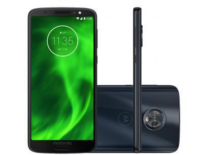 Smartphone Motorola Moto G6 32GB Indigo  - Dual Chip 4G Câm. Duo 12MP + 5MP + Selfie 8MP