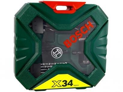 Kit de Acessórios X-Line 34 Peças - Bosch